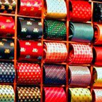 expositores para corbatas y bufandas