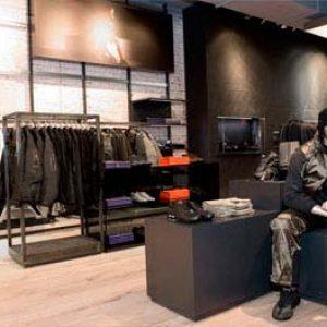 decoración industrial para ropa de sport