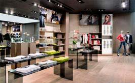 afa36b7c7 Decoración de tiendas. tienda ropa moderna