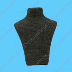 Expositor para collares acabado textil