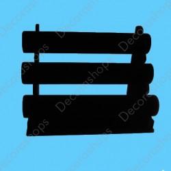 Expositor para pulseras tipo tubo tres niveles