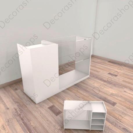 Pack Mostrador frente vitrina + TPV