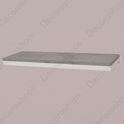 Estantería de madera con sujección a pared