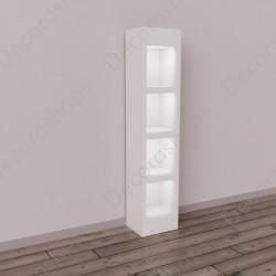 Mueble hornacina con led