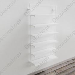 Mueble estantería bastidor metálico-F