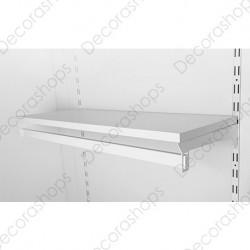 Juego de soportes con barra inferior para panel de cremallera