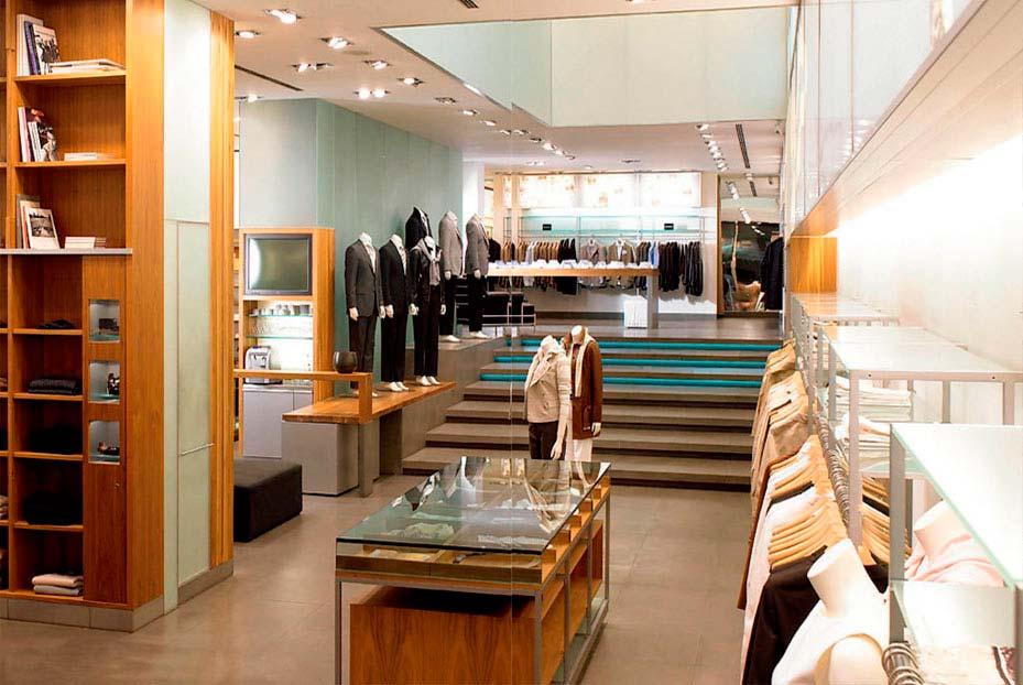 decoración tienda ropa